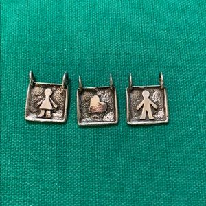 Silpada pendants- used as display only